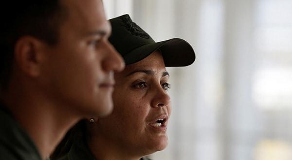 Efectivos militares venezolanos