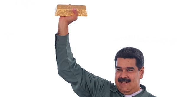Venezuela vendería 15 toneladas de oro ante falta de efectivo. La transacción se haría con los Emiratos Árabes