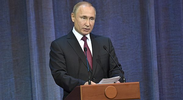 Rusia y Estados Unidos suspenden tratado de armas nucleares. El presidente Putin expresó que comenzarán a trabajar en crear nuevos misiles