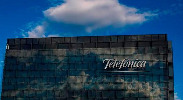 Sede de Telefónica en Madrid, España, el 12 de junio de 2018.