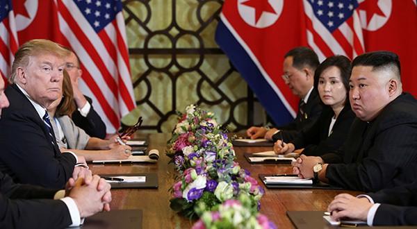 Sin acuerdo concluyó en Vietnam cumbre entre Trump y Kim. Corea del Norte solicitó levantamiento de las sanciones en su totalidad
