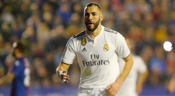 Real Madrid venció al Levante