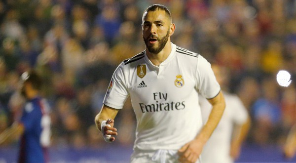 Real Madrid venció al Levante