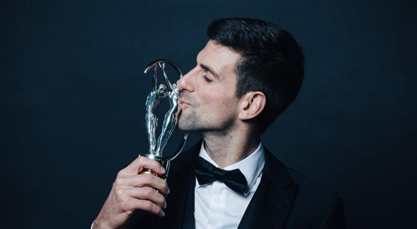 Novak Djokovic ha ganado los premios Laureus en cuatro ocasiones (@LaureusSport)