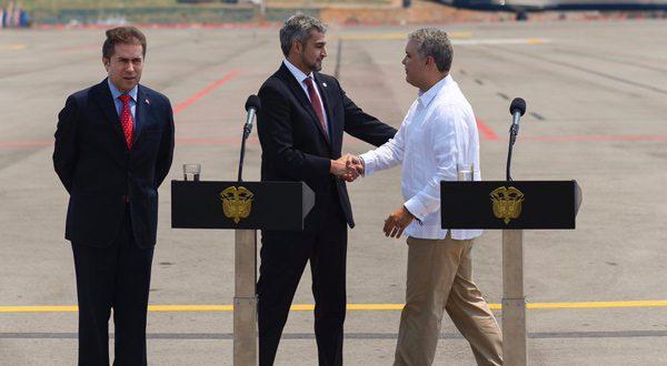 Duque, Piñera, Abdo Benítez y Almagro se encuentran en Cúcuta para apoyar ingreso de ayuda humanitaria a Venezuela