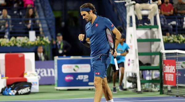 Roger Federer alcanza su undécima semifinal en el ATP de Dubái