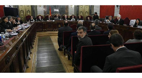 Jordi Cuixart admitió este martes en el juicio al procés que volvería a actuar como en el pasado.