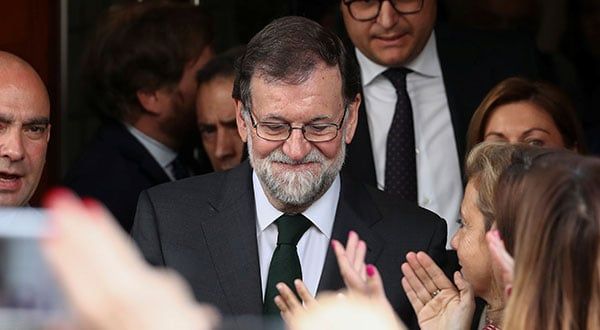 El ex presidente Mariano Rajov sostuvo que los líderes separatistas catalanes sabían a qué atenerse con la declaratoria independentista.