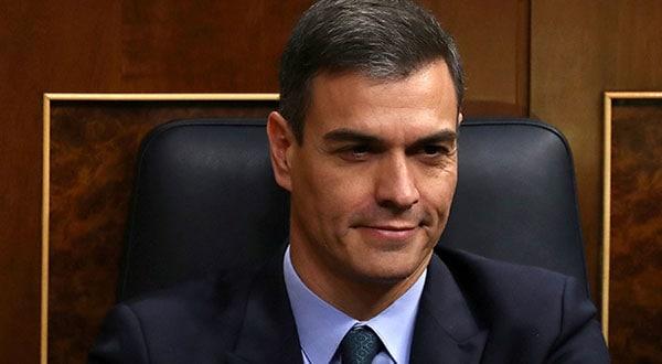 El presidente del Gobierno, Pedro Sánchez, durante una sesión del Congreso español.