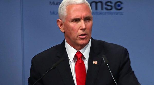 El vicepresidente de EEUU, Mike Pence, invitó a los países de la UE a reconocer a Juan Guaidó como presidente legítimo de Venezuela.