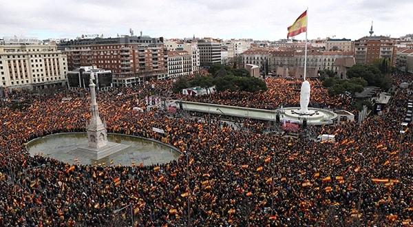 protestaron Plaza Colón