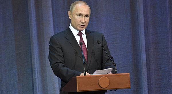 El presidente ruso, Vladimir Putin, respondió en forma similar a los recientes anuncios de Estados Unidos.