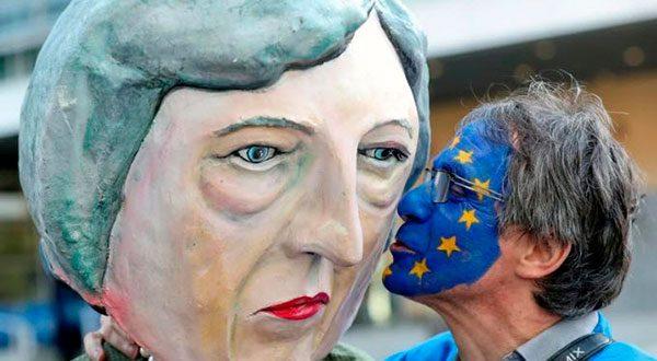 Brexit protesta