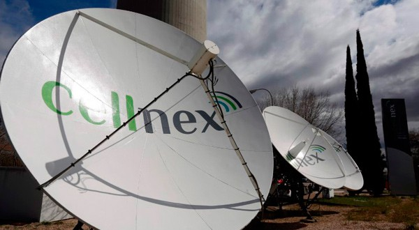 Antenas de Cellnex en Madrid.