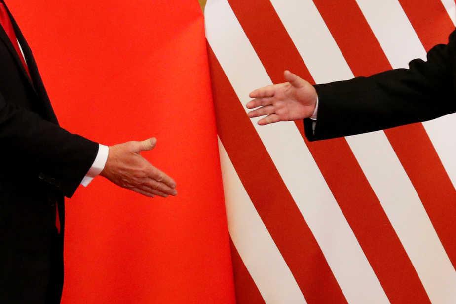 Los presidentes de Estados Unidos, Donald Trump, y de China, Xi Jingping, estrecharon sus manos en el último encuentro en Pekín el 9 de noviembre de 2017.