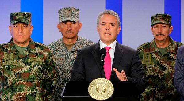 Gobierno de Iván Duque ha doblado los esfuerzos para combatir el narcotráfico y el crimen organizado.