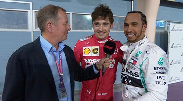 Una falla en su Ferrari relegó a Leclerc  al tercer lugar y permitió a Lewis Hamilton alcanzar su primera victoria de la temporada/@F1