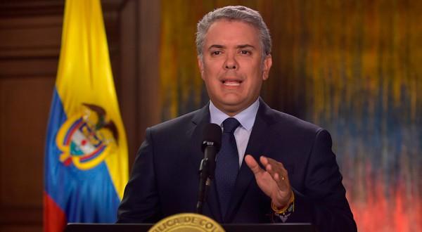 El presidente de Colombia, Iván Duque, ha objetado numerosos acuerdos que dejan sin castigo a victimarios del terrorismo colombiano.