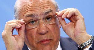 Crecimiento de la economía mundial caerá en 2019 según la OCDE. En la imagen de archivo, el secretario general de la OCDE, José Ángel Gurria, en un conferencia en Berlín
