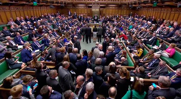 Moción en el Parlamento británico en donde se aprobó la prórroga al Brexit y se rechazó un nuevo referendo.