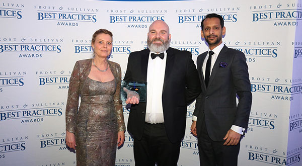 Dos de los criterios de evaluación de Frost & Sullivan para el premio conferido a BOSCH fueron el alcance con el que se utiliza la tecnología y su impacto sobre el éxito de la empresa.