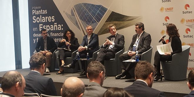 Soltec y UNEF celebran la segunda edición del congreso 'Plantas solares en España'