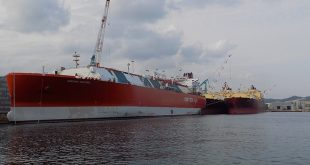 Barco metanero de Endesa