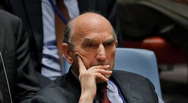 El enviado especial de Washington Elliott Abrams adelantó que se anunciarán más sanciones y muy significativas contra el Gobierno de Venezuela.