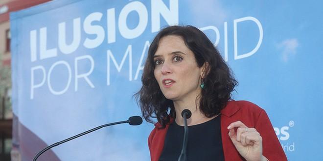 Encuentro con afiliados y simpatizantes del PP en Majadahonda (Madrid) el 13 de marzo.