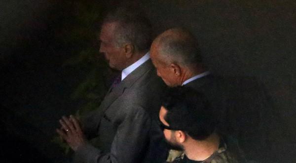 El expresidente de Brasil Michel Temer en el aeropuerto de Guarulhos en Sao Paulo. 21 de marzo de 2019
