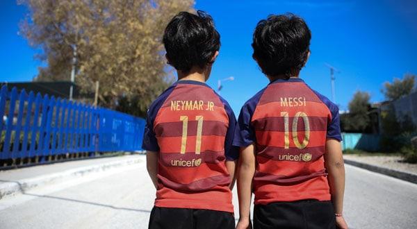 futbol campos de refugiados