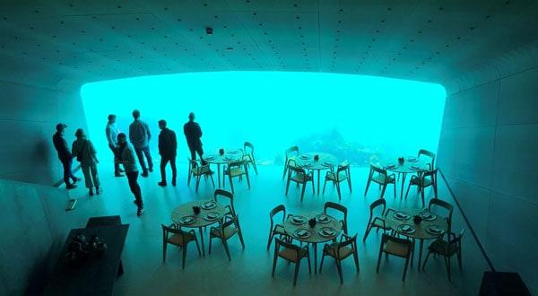 restaurante submarino