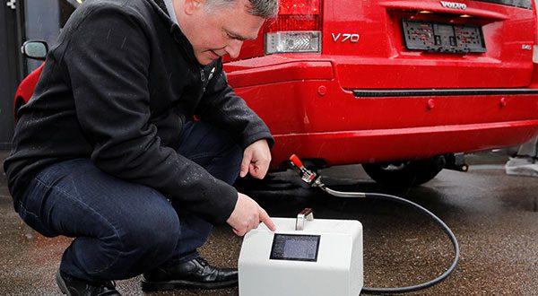 En Europa desarrollan pruebas que miden la contaminación automotriz