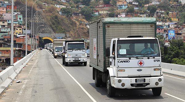 Ayuda humanitaria llegó a Venezuela