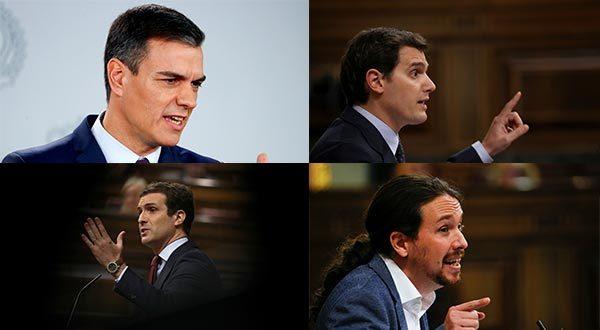 Primer debate electoral transcurrió con más acusaciones que propuestas