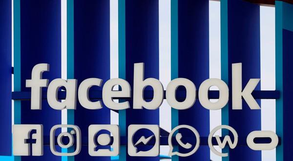 Logo de Facebook y sus aplicaciones.