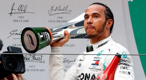 Lewis Hamilton ahora es el líder del campeonato de la F1.