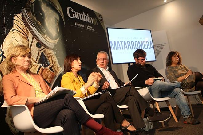 El debate contó con representantes de PSOE, PP, Podemos y PNV y estuvo patrocinado por Bodegas Familiares Matarromera.