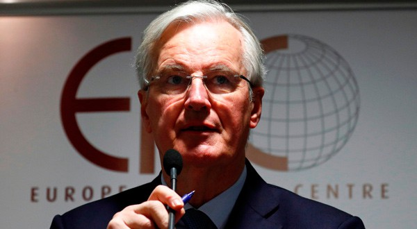 El negociador jefe de la Unión Europea para el Brexit, Michael Barnier, en Bruselas, Bélgica.