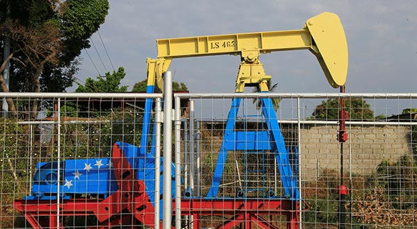 Producción petrolera de Venezuela