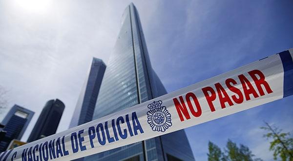 Durante el desalojo del cuarto edificio más alto de España no hubo pánico ni se reportaron lesionados.