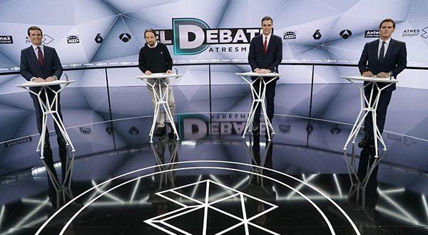 Natalidad y eutanasia encendieron segundo debate electoral en TV