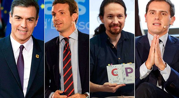 Serán dos debates a cuatro: el 22 en RTVE y el 23 en Atresmedia