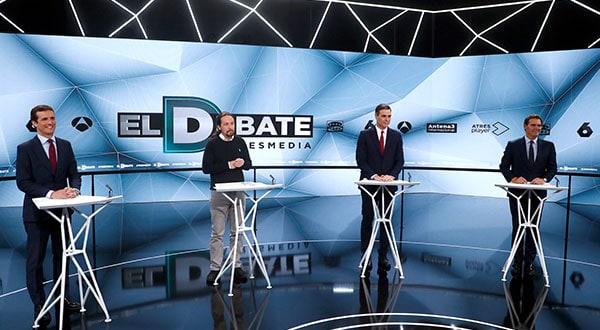 El impacto en la opinión pública de los debates televisados es un misterio que las encuestas no pueden revelar.