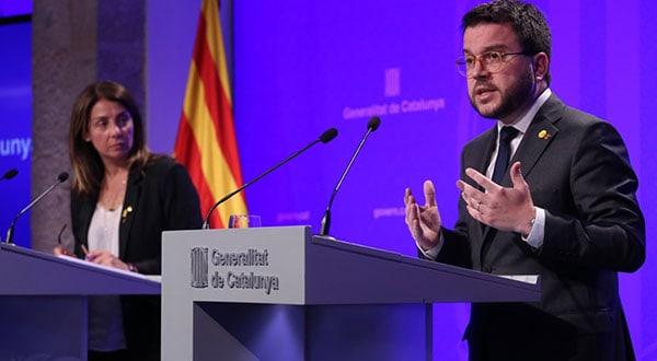El vicepresidente del Govern, Pere Aragonès, sostuvo que si la cámara catalana no convalida el decreto, dirá no al bienestar de los ciudadanos de Catalunya.