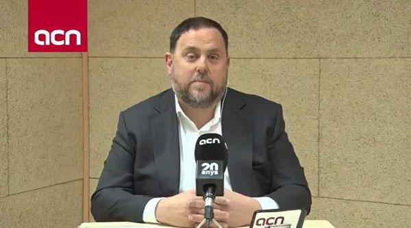 En la proximidad de las elecciones, Oriol Junqueras dejó abiertas las posibilidades de que ERC brinde apoyo a Pedro Sánchez.
