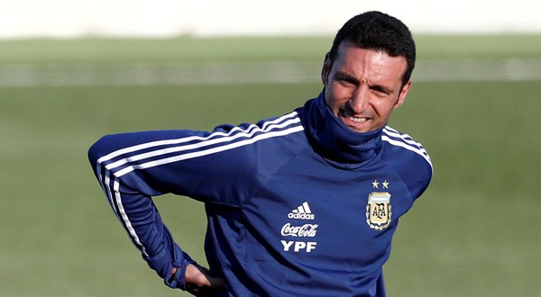 Lionel Scaloni, seleccionador de Argentina