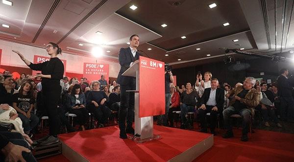 El PSOE anunció formalmente la participación de su candidato Pedro Sánchez en el debate que muy probablemente se realizará los días 22 o 23 de abril a través de la señal de RTVE.