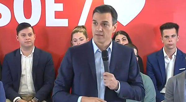 Pedro Sánchez, jefe del gobierno de España