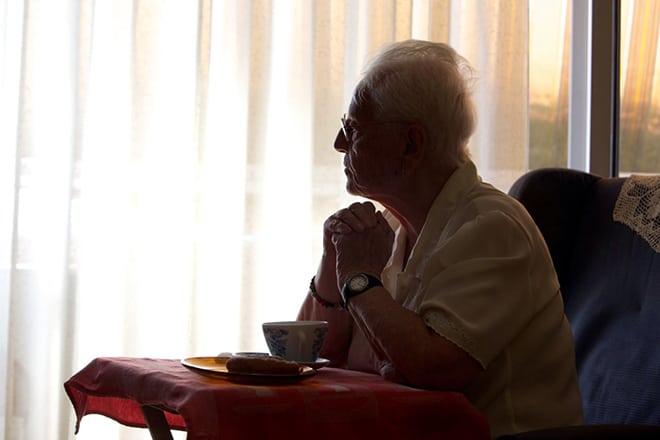 La soledad, el problema de los más mayores